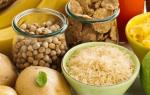 Гликемический индекс продуктов питания